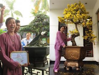 Hoài Linh ôm cây cảnh nửa tỷ đi thi và giành luôn giải nhất