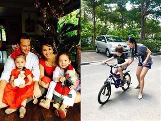 Hậu ly hôn, Hồng Nhung bắt đầu thực hiện kế hoạch mùa hè đặc biệt cho con trai