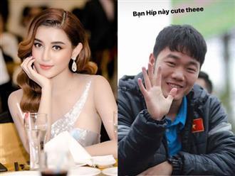Giữa dàn cầu thủ 'cực phẩm' U23 Việt Nam, Xuân Trường được Huyền My đặc biệt ưu ái!