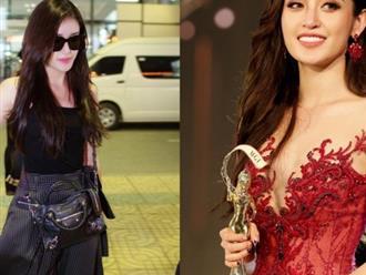 Sau chung kết Hoa hậu Hòa bình Quốc tế, Huyền My lặng lẽ trở về Hà Nội