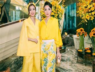 2 hoa hậu Kỳ Duyên, Đỗ Mỹ Linh xinh đẹp mà vẫn FA ngày Valentine's
