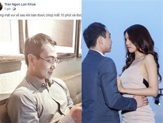 Sau màn cầu hôn lãng mạn, Lan Khuê 'đường đường chính chính' công khai khoe ảnh chồng sắp cưới