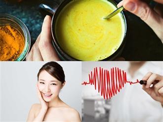 Sữa nghệ - Thức uống 'thần thánh' mang lại vô số lợi ích cho sức khỏe cũng như nhan sắc