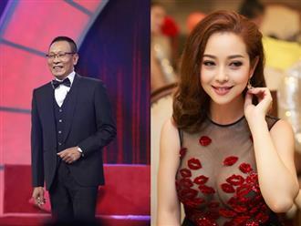 MC Lại Văn Sâm khen ngợi nhan sắc của Jennier Phạm