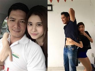Không chỉ tình tứ với Bình Minh, Trương Quỳnh Anh còn lộ ảnh thân mật với nam diễn viên này