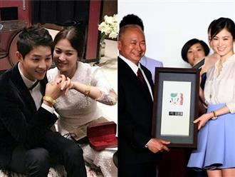 Lộ diện người đã tặng vợ chồng Song Joong Ki – Song Hye Kyo cặp vòng vàng 'khủng'
