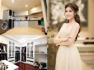 Chia tay biệt thự triệu đô, căn hộ chung cư mới của gia đình Huyền My làm nhiều người ngỡ ngàng