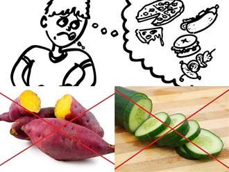 Dù bụng 'đánh trống' dữ dội, bạn cũng tuyệt đối không nên ăn những loại thực phẩm này
