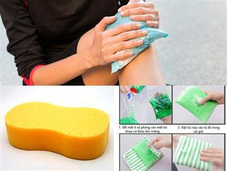 Ngoài nước đá, bạn có thể chườm lạnh giảm đau bằng những vật dụng không ngờ này