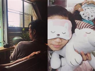 Tránh xa showbiz sau scandal gạ tình, Phạm Anh Khoa ở nhà chơi với con