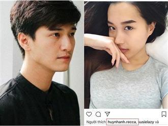 Mặc scandal lộ ảnh nóng, Huỳnh Anh vẫn vui vẻ bày tỏ tình yêu với bạn gái mới