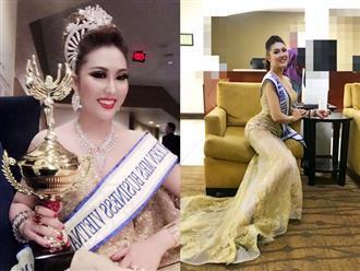 Phi Thanh Vân mắng những người thêu dệt chuyện cô mua danh hiệu hoa hậu là 'ếch ngồi đáy giếng'