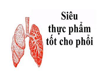 Siêu thực phẩm giúp làm sạch phổi