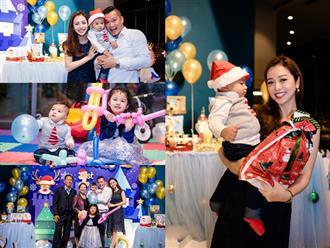 Tiệc thôi nôi hoành tráng của con trai Jennifer Phạm và chồng đại gia