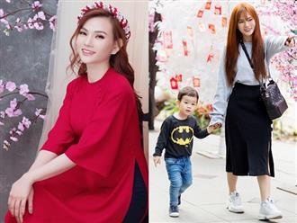Thu Thủy: 'Tôi nuôi con một mình vui hơn khi sống bên chồng cũ'