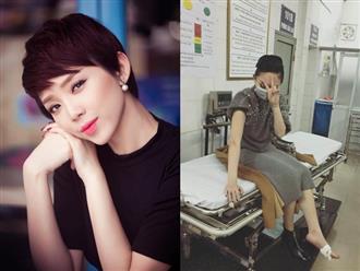 Tóc Tiên bất ngờ nhập viện ngay ngày đầu năm