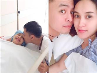 Được chồng hết lòng chăm sóc, Tú Vi vẫn khóc cả tiếng trong hai tuần đầu sau sinh vì tủi thân