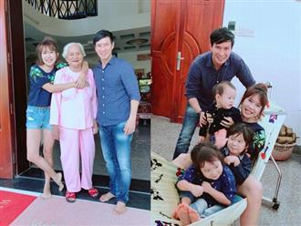 Đại gia đình Lý Hải - Minh Hà nhận mưa lời khen khi khoe ảnh các con về thăm quê nội