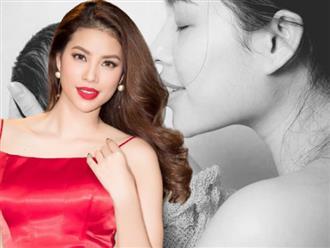 Hoa hậu Phạm Hương lần đầu công bố ảnh hiếm hoi cùng quý tử đầu lòng, khoảnh khắc chụp ảnh nude mới đáng chú ý!