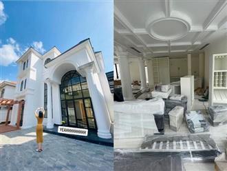 Lệ Quyên khoe hình ảnh bên trong căn bạch dinh mới tại Sài Gòn, là tổ ấm xây dựng hạnh phúc cùng tình trẻ?