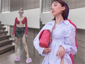 Netizen 'rần rần' khi Tóc Tiên khoe bộ trang phục 'mặc như không mặc', thực tế thì cô còn có nhiều pha lên đồ 'hư hỏng' hơn
