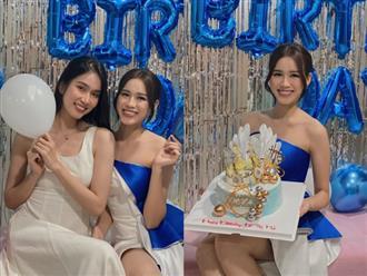 """Hoa hậu Tiểu Vy """"lột"""" trang sức hàng hiệu tặng sinh nhật Đỗ Hà"""