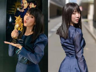 Nghỉ dịch 4 tháng, Thu Trang lại bất ngờ 'ẵm' giải 'Nữ nghệ sĩ Quốc tế xuất sắc nhất' ở 'World Star Awards 2021'