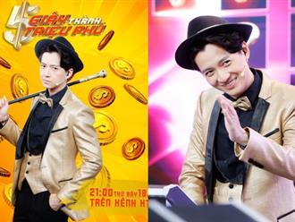 """Đang hot ở """"Running Man Vietnam"""", Ngô Kiến Huy bất ngờ làm MC """"5 giây thành triệu phú"""""""