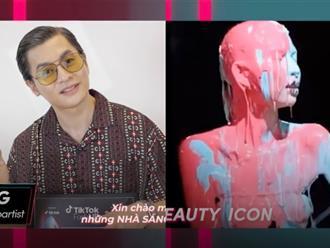 Nam Trung 'chơi lớn' đổ thẳng thùng sơn lên người Á quân 'Vietnam's Next Top Model All Stars' Thùy Dương?