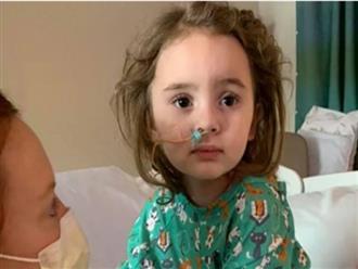 Biến chứng của cúm, cô bé 4 tuổi bị hoại tử não, mù cả hai mắt
