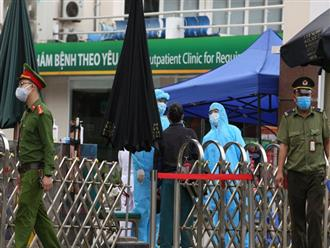 Hà Nội: Bệnh viện Xanh Pôn phong tỏa 1 khoa vì bệnh nhân nhiễm Covid-19 đến thăm con