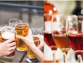 Bia hay rượu: Đồ uống nào gây hại sức khỏe hơn?