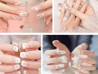 Những mẫu nail đẹp nhẹ nhàng cho nàng 'xúng xính' Tết này, có mẫu giá chưa tới 10 ngàn đồng?