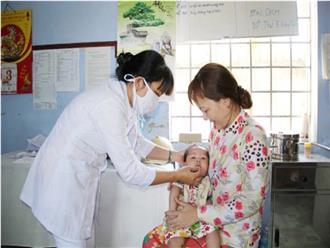 Đồng loạt bổ sung vitamin A miễn phí cho trẻ trên cả nước