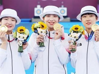 Tham gia Olympic 2020: Đội tuyển nữ bắn cung Hàn Quốc yêu cầu BTC bật hit của BTS sau khi giành chức vô địch, nhưng kết quả lại... 'cười ná thở'