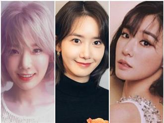 3 mỹ nhân nhóm nhạc SNSD để tóc ngắn cực xinh, Yoona đẹp 'mê hồn', Taeyeon lạnh lùng kiêu sa