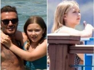 Fan David Beckham được pha bổ mắt ngắm visual cực đỉnh nhà BeckVic, nhưng công chúa nhỏ Harper lại chiếm trọn spotlight của bố