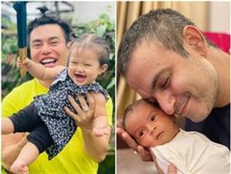 """Sao Việt 24h: Lê Dương Bảo Lâm chơi cùng con gái cưng, Võ Hạ Trâm khoe ảnh ông xã người Ấn và con gái giống cha """"y như đúc"""""""