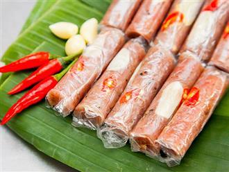 Hướng dẫn cách làm nem chua ngon, đơn giản nhất ăn Tết tại nhà