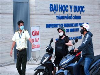 Trường đại học ở Sài Gòn cho một số sinh viên cách ly do liên quan ca nhiễm Covid-19 thứ 38