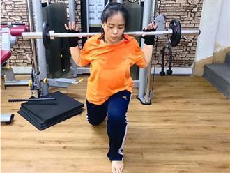 Cô gái 4 tháng tập gym giảm 30 kg