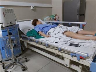 Cô gái co giật sau khi hút mỡ, bơm ngực tại thẩm mỹ viện