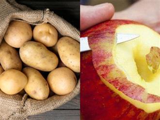 Đừng cho vào tủ lạnh, khoai tây mua về hãy đặt cạnh thứ này, bảo quản cả tháng cũng chẳng hư