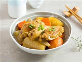 Đừng chiên nước mắm, cánh gà kho với loại củ này khiến bữa cơm sang chảnh không khác nhà hàng
