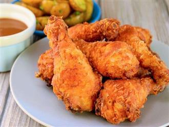 Đổi khẩu vị với món gà rán tẩm bột, đảm bảo bé nào cũng mê tít