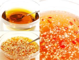 Công thức vàng để có bát nước mắm tỏi ớt ngon xuất sắc, ai ăn cũng hỏi xin cách làm