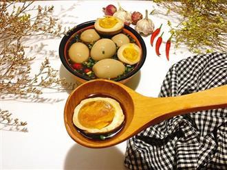 Thay đổi khẩu vị với món trứng ngâm nước tương Hàn Quốc