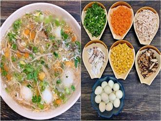 Cách nấu súp gà rau củ ngon chiêu đãi cả nhà vào ngày lạnh