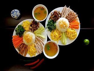 Hướng dẫn cách làm cơm âm phủ, món ăn đặc sắc nhất ở Huế