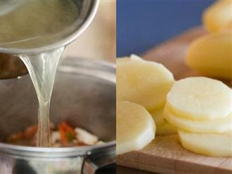 Những mẹo đơn giản làm giảm độ mặn của thực phẩm khi chế biến món ăn chị em cần phải biết